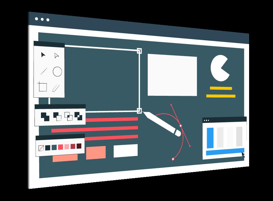 UI Design, Website Development, Software Development Life Cycle
