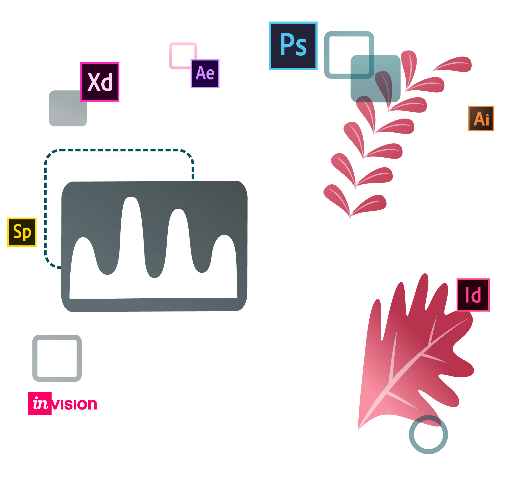 web design company, responsive web design, social media post design, adobe photoshop, adobe illustrator